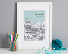 Load image into Gallery viewer, Personalised Guildford Print-1