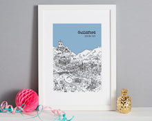 Load image into Gallery viewer, Personalised Guildford Print-5