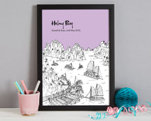 Load image into Gallery viewer, Personalised Halong Bay Print-3