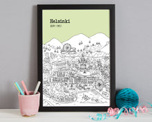 Load image into Gallery viewer, Personalised Helsinki Print-5