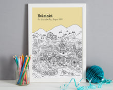 Load image into Gallery viewer, Personalised Helsinki Print-4