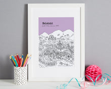 Load image into Gallery viewer, Personalised Helsinki Print-1