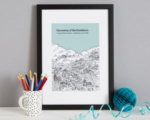 Personalised Hertford Graduation Gift