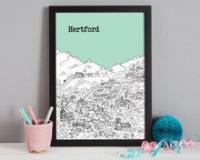 Load image into Gallery viewer, Personalised Hertford Print-7