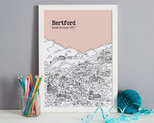 Load image into Gallery viewer, Personalised Hertford Print-5
