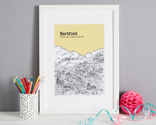 Load image into Gallery viewer, Personalised Hertford Print-1