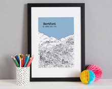 Load image into Gallery viewer, Personalised Hertford Print-4