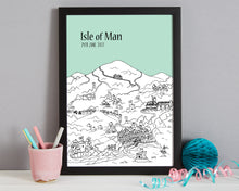 Load image into Gallery viewer, Personalised Isle of Man Print-7