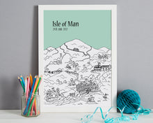 Load image into Gallery viewer, Personalised Isle of Man Print-6