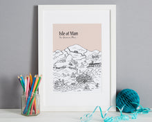 Load image into Gallery viewer, Personalised Isle of Man Print-1