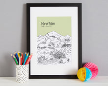Load image into Gallery viewer, Personalised Isle of Man Print-5