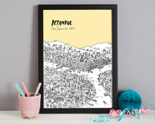 Load image into Gallery viewer, Personalised Istanbul Print-6