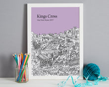 Load image into Gallery viewer, Personalised Kings Cross Print-5