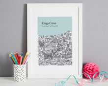 Load image into Gallery viewer, Personalised Kings Cross Print-1