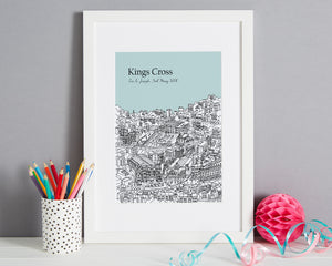 Personalised Kings Cross Print-1