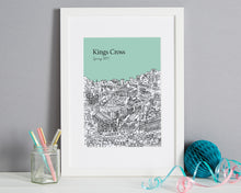 Load image into Gallery viewer, Personalised Kings Cross Print-6