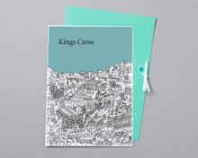 Load image into Gallery viewer, Personalised Kings Cross Print-3