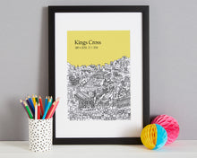 Load image into Gallery viewer, Personalised Kings Cross Print-4