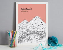 Load image into Gallery viewer, Personalised Koh Samui Print-3