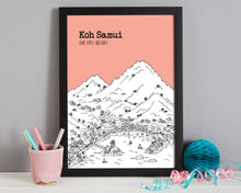 Load image into Gallery viewer, Personalised Koh Samui Print-7