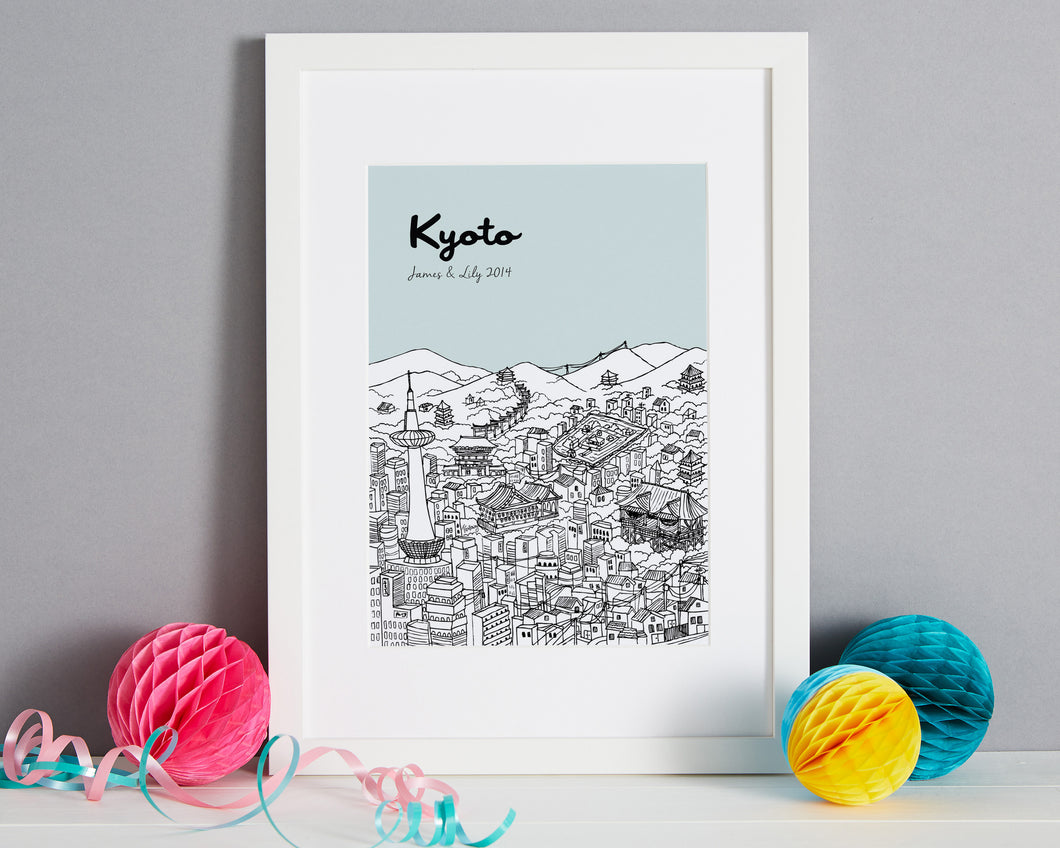 Personalised Kyoto Print-1