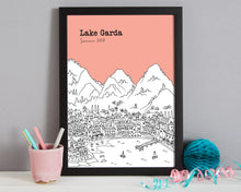 Load image into Gallery viewer, Personalised Lake Garda Print-6