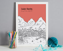 Load image into Gallery viewer, Personalised Lake Garda Print-5