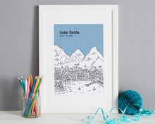 Load image into Gallery viewer, Personalised Lake Garda Print-4