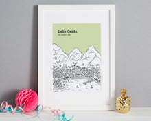 Load image into Gallery viewer, Personalised Lake Garda Print-1