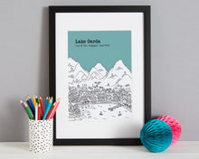 Load image into Gallery viewer, Personalised Lake Garda Print-3