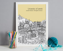 Load image into Gallery viewer, Personalised Leeds Graduation Gift