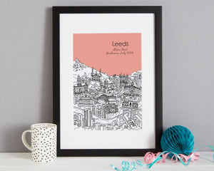 Personalised Leeds Graduation Gift