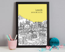Load image into Gallery viewer, Personalised Leeds Print-4