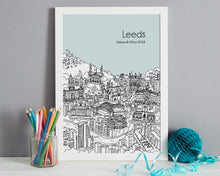 Load image into Gallery viewer, Personalised Leeds Print-7