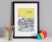 Load image into Gallery viewer, Personalised Leeds Print-5