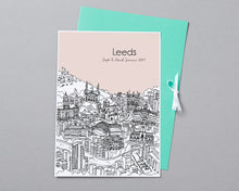 Load image into Gallery viewer, Personalised Leeds Print-6