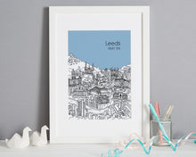Load image into Gallery viewer, Personalised Leeds Print-3