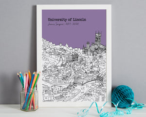 Personalised Lincoln Graduation Gift