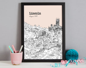 Personalised Lincoln Print-6