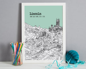 Personalised Lincoln Print-5