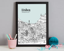 Load image into Gallery viewer, Personalised Lisbon Print-4