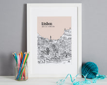 Load image into Gallery viewer, Personalised Lisbon Print-1