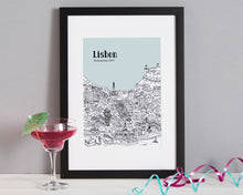Load image into Gallery viewer, Personalised Lisbon Print-5