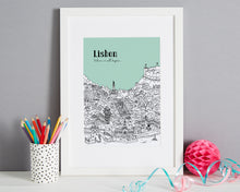 Load image into Gallery viewer, Personalised Lisbon Print-7