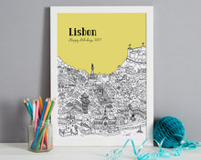 Load image into Gallery viewer, Personalised Lisbon Print-3