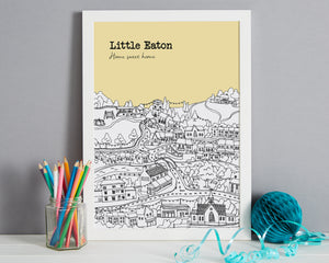 Personalised Little Eaton Print