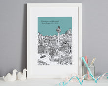 Load image into Gallery viewer, Personalised Liverpool Graduation Gift