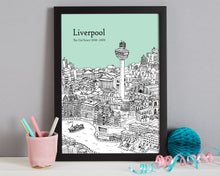 Load image into Gallery viewer, Personalised Liverpool Print-4