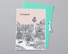 Load image into Gallery viewer, Personalised Liverpool Print-7