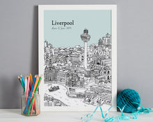 Load image into Gallery viewer, Personalised Liverpool Print-3